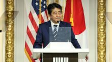 Japan's Abe says time for talk is over on North Korea