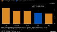 Uber quiere una valoración de hasta US$90.000 millones: fuentes