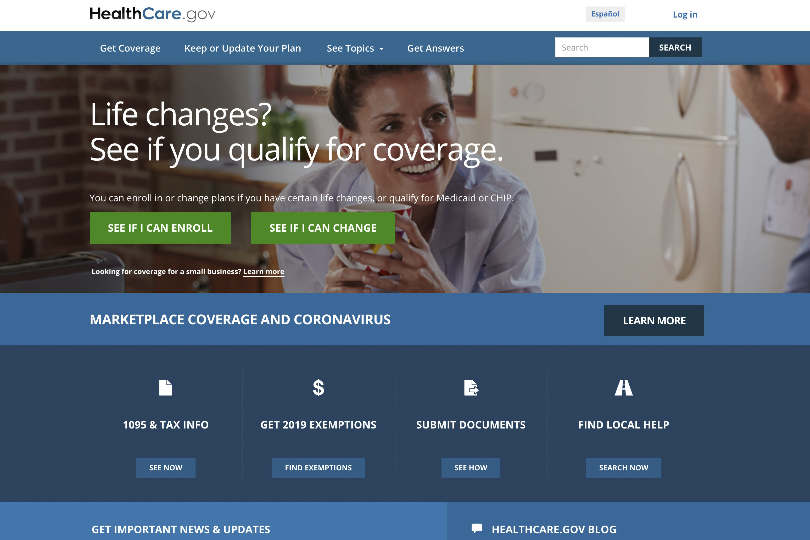 Close to half a million people who lost their health insurance amid the economic shutdown to slow the spread of COVID-19 have gotten cove