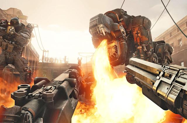 'Wolfenstein Cyberpilot' takes the fight to VR