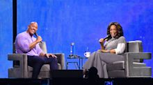 Dwayne Johnson opens up to Oprah Winfrey about grieving his late dad: 'I felt so grateful and moved'