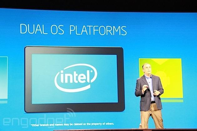 Intel unveils 'dual OS platform' that runs Android and Windows on a single device