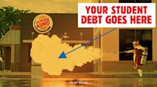 Burger King wants to help debt-laden grads pay off their student loans