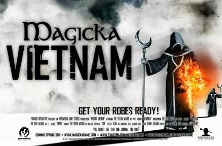 Magicka sequel planned, first game and Vietnam expansion sold 'over expectations'