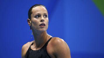 Federica Pellegrini, estrella olímpica italiana de natación, se insinúa a Cristiano Ronaldo