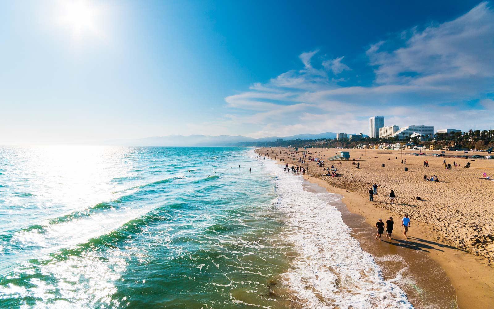 лос анджелес фото пляж продолжит