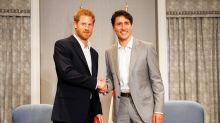 Le prince Harry a un jumeau, et c'est le photographe de Justin Trudeau