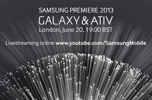 Samsung to livestream its Galaxy and ATIV 'premiere' event
