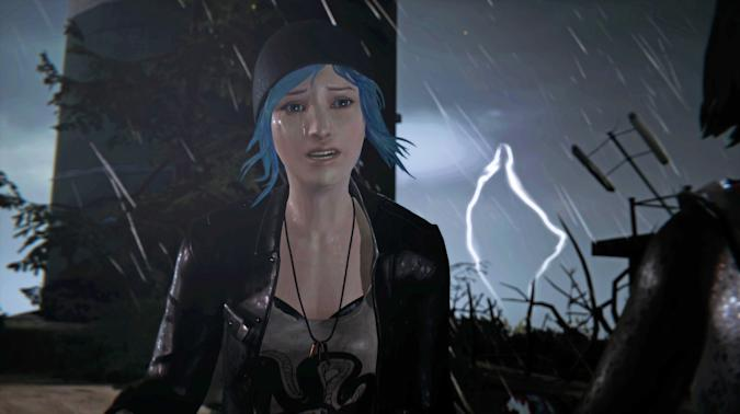 A still from the video game: Life is Strange: Remastered Collection.