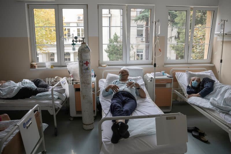 COVID-19 infections soar across Western Balkans, hospitals struggling to cope