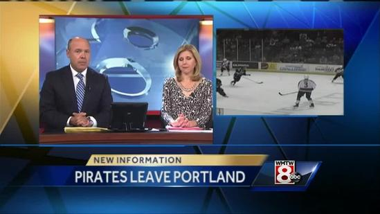 Portland Pirates to play all 2013-2014 home games in Lewiston