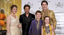 In Pics: Justin Trudeau's Bollywood Evening out