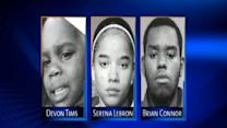 Devon Tims, 2, found along with cousin and teen girl