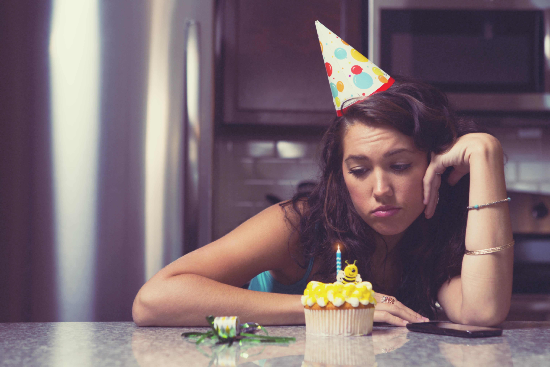 открытка день рождения грустный праздник захотите