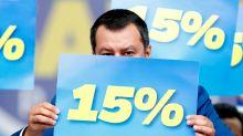 Flat tax, la riforma fiscale della Lega è pronta