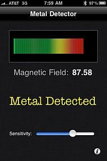 Metal Detector solves some problems you don't have