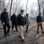 "Donald Trump Visits California Wildfire Zone: ""This Is Very Sad To See"""