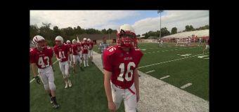 Ohio teen with prosthetic leg plays football