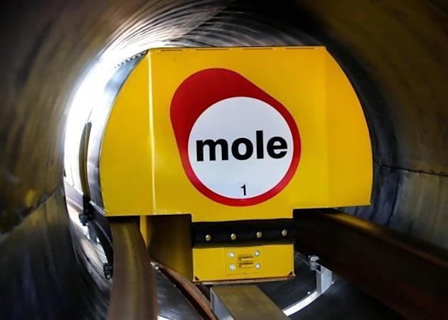 Northampton's testing magnetic underground delivery 'moles'