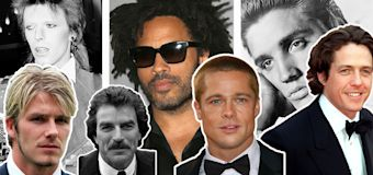 The most iconic male celebrity hairstyles