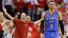Westbrook's horrific 4th overshadowed his historic stats and helped the Rockets to a 2-0 lead