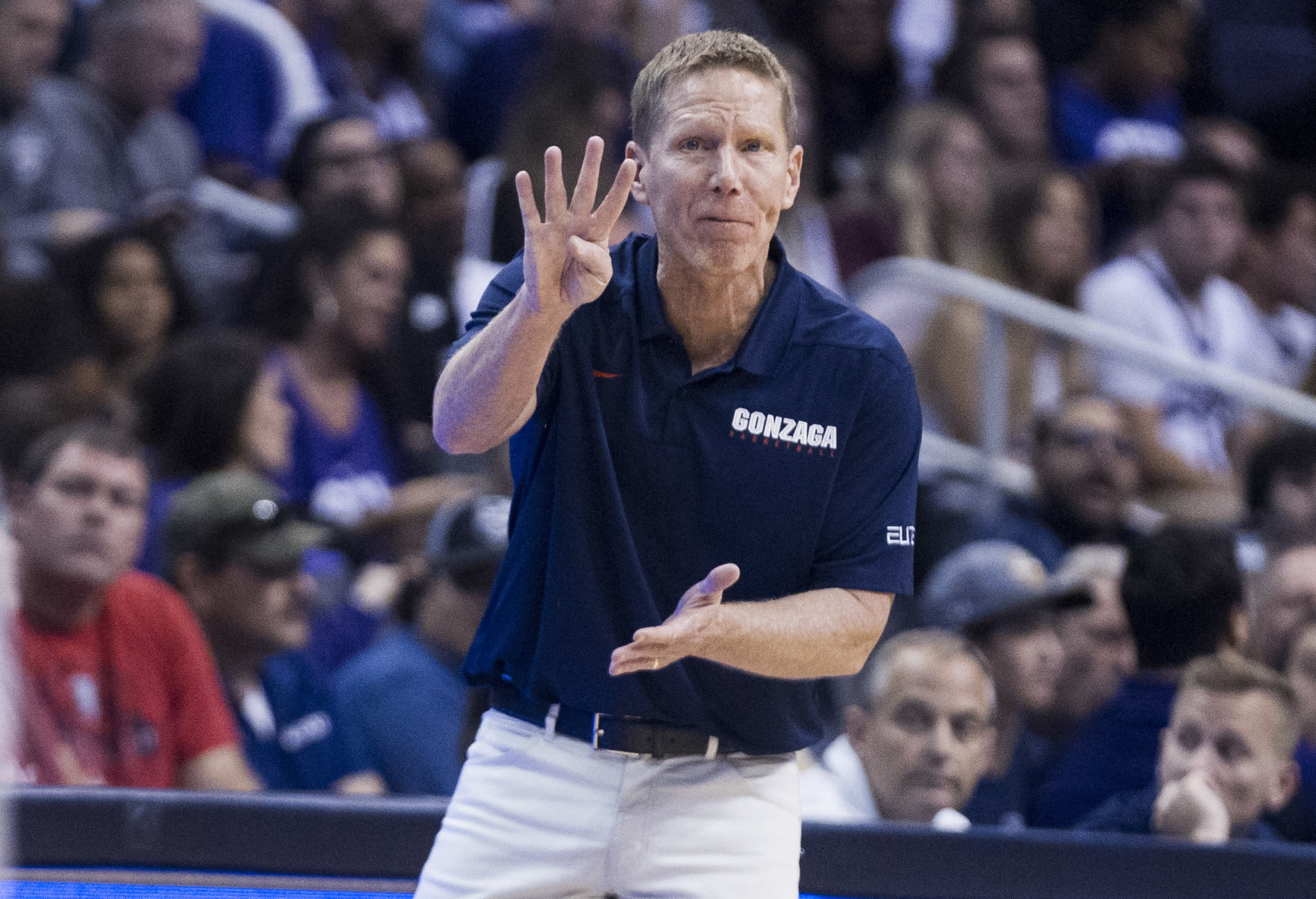 Gonzaga coach Mark Few wants NCAA to 'make decisions' in corruption investigation