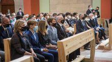 La solemnidad y la emoción presiden el funeral por el teniente coronel del GAR