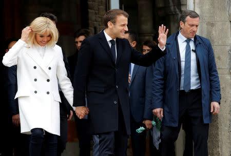 Macron Greta