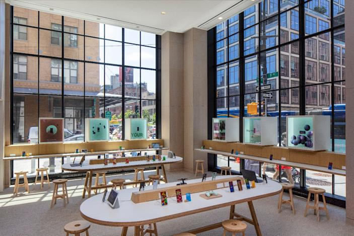 Google's first retail store is a space to sell, fix and show off its products