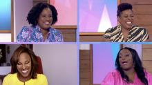 Loose Women's first all-black presenting panel praised by viewers