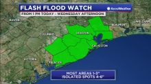 Potential flooding as heavy rain threat increases this week
