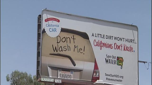 New water saving campaign in California