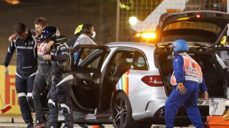 F1 - Romain Grosjean à propos de son accident: «Ça ne peut pas se terminer comme ça»