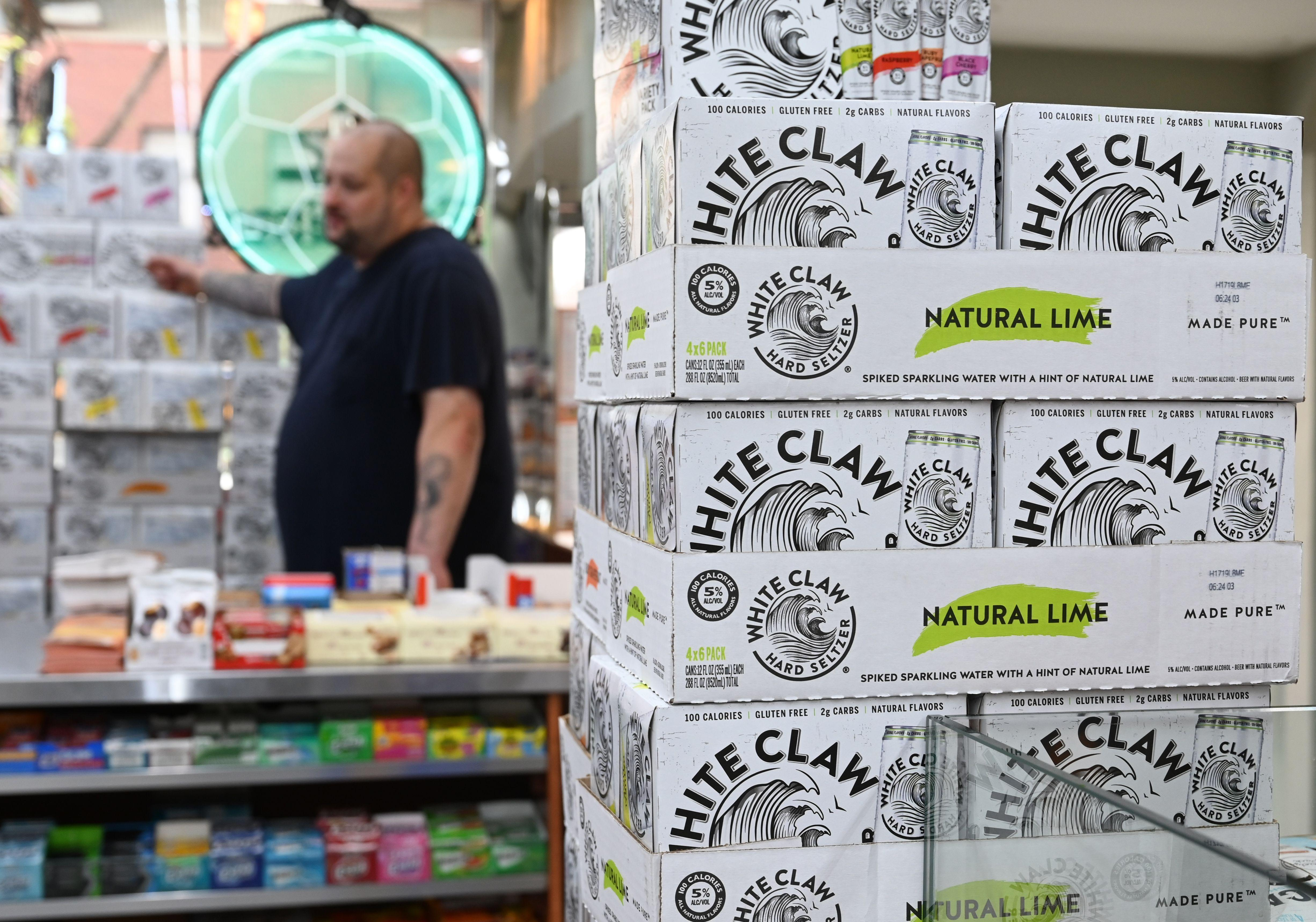 White Claw, DoorDash top the list of 2019's fastest-growing brands