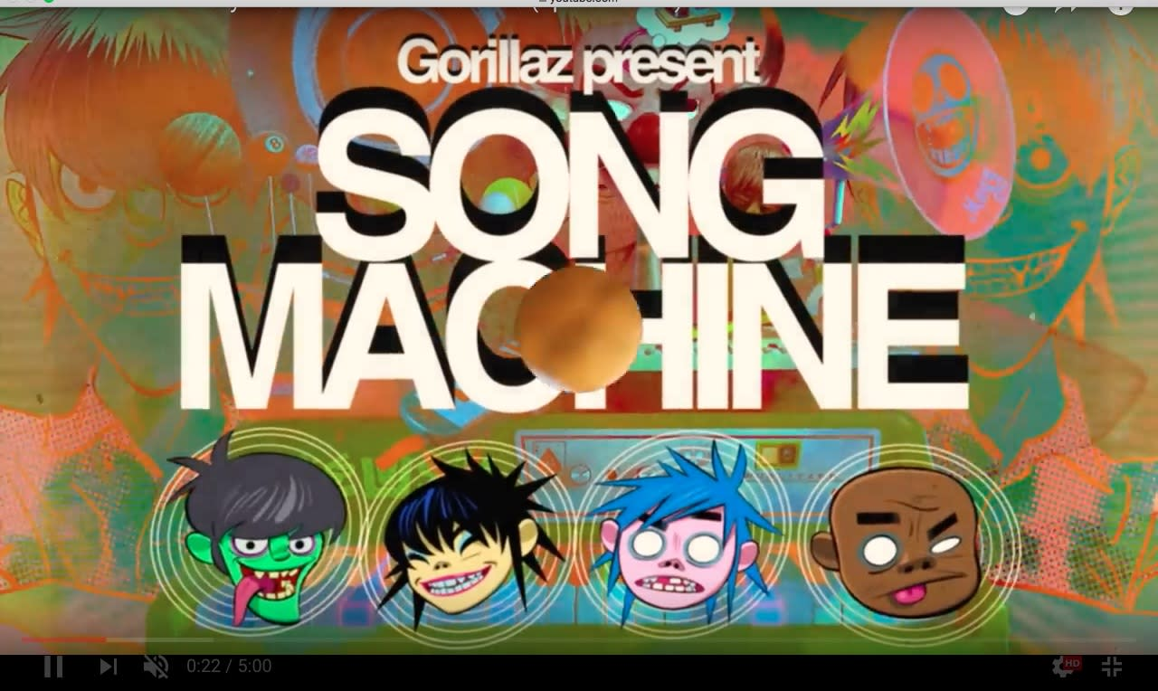 Gorillaz announce Song Machine project + share new single 'Momentary Bliss'