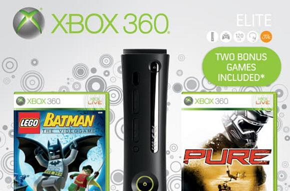 First pics of Xbox 360 Holiday 2009 Bundle