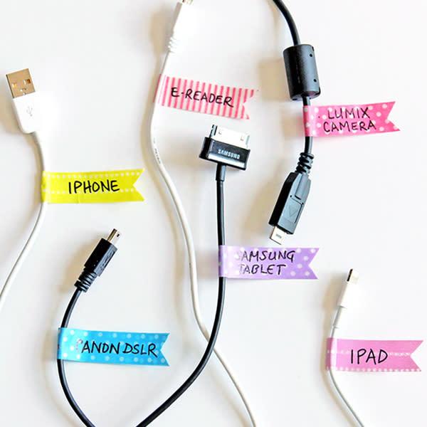 10 ideas para ordenar los cables del hogar - Ideas para ordenar ...