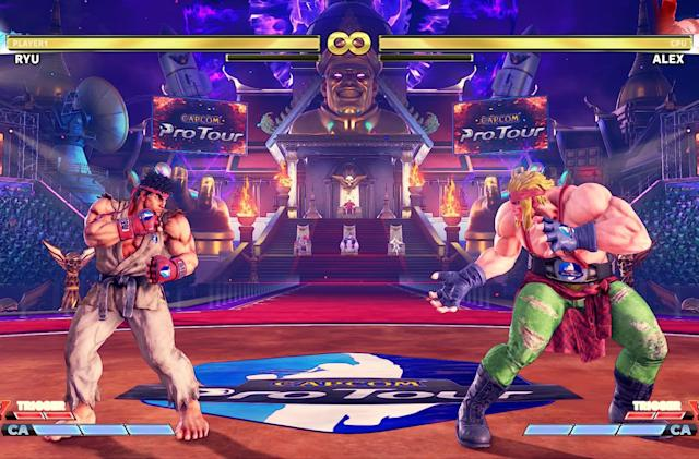 Capcom pulls in-game ads from 'Street Fighter V'