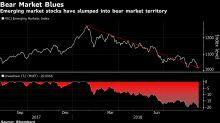 Emerging-Market Stocks Were Pummeled This Week