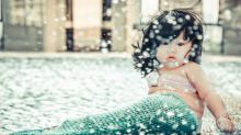 Descubre a la adorable'sirenita' que está triunfando en Internet