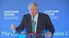 UK's Johnson talks North Korea, Iran and Brexit in foreign policy speech