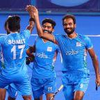 Olympics-Hockey-India and Belgium join Australia, Germany in semis
