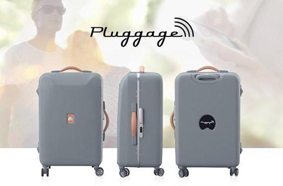 Delsey's luggage weighs itself, charges phones, knows the weather