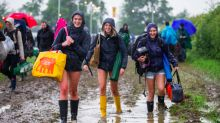 Glastonbury's Here! Festival Fans Arrive In Somerset After Defying The Mud (And Traffic)
