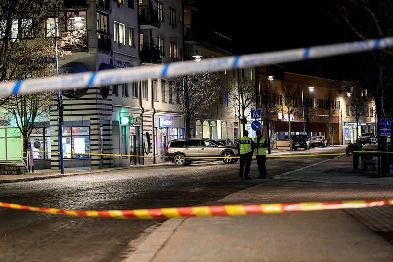 Attaque au couteau en Suède, possible acte terroriste selon la police