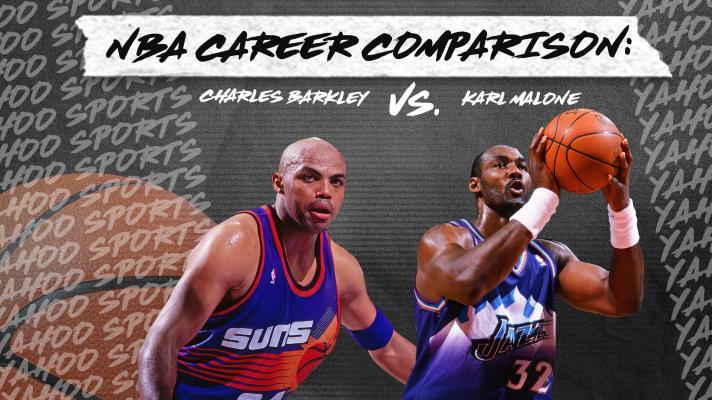 Whose NBA career is better? Charles Barkley vs. Karl Malone