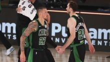 Hayward scores 31 as Celtics edge Magic 122-119 in OT