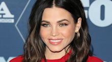 'Let's do this': Jenna Dewan hits the gym in snake print leggings and bra