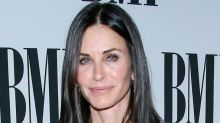 Courteney Cox just shared the best Friends throwback