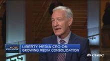 Liberty Media CEO Greg Maffei on media mergers